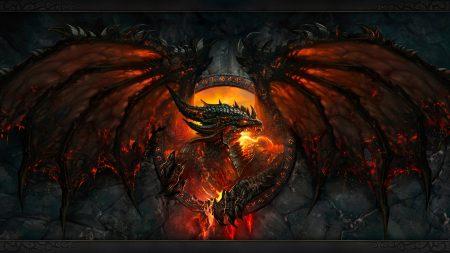 world of warcraft, dragon, fire