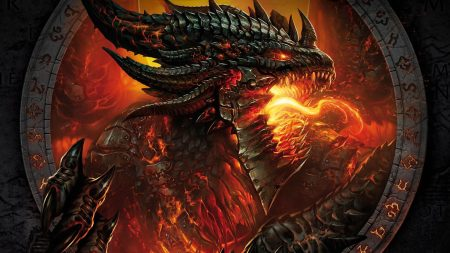 world of warcraft, face, fire
