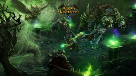 world of warcraft, heroes of newerth, characters