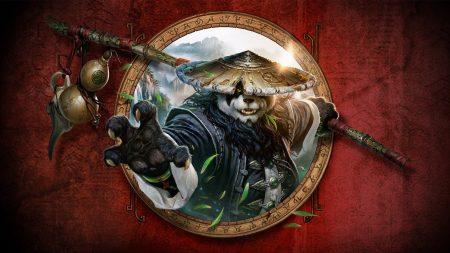 world of warcraft mists of pandaria, panda, leaves
