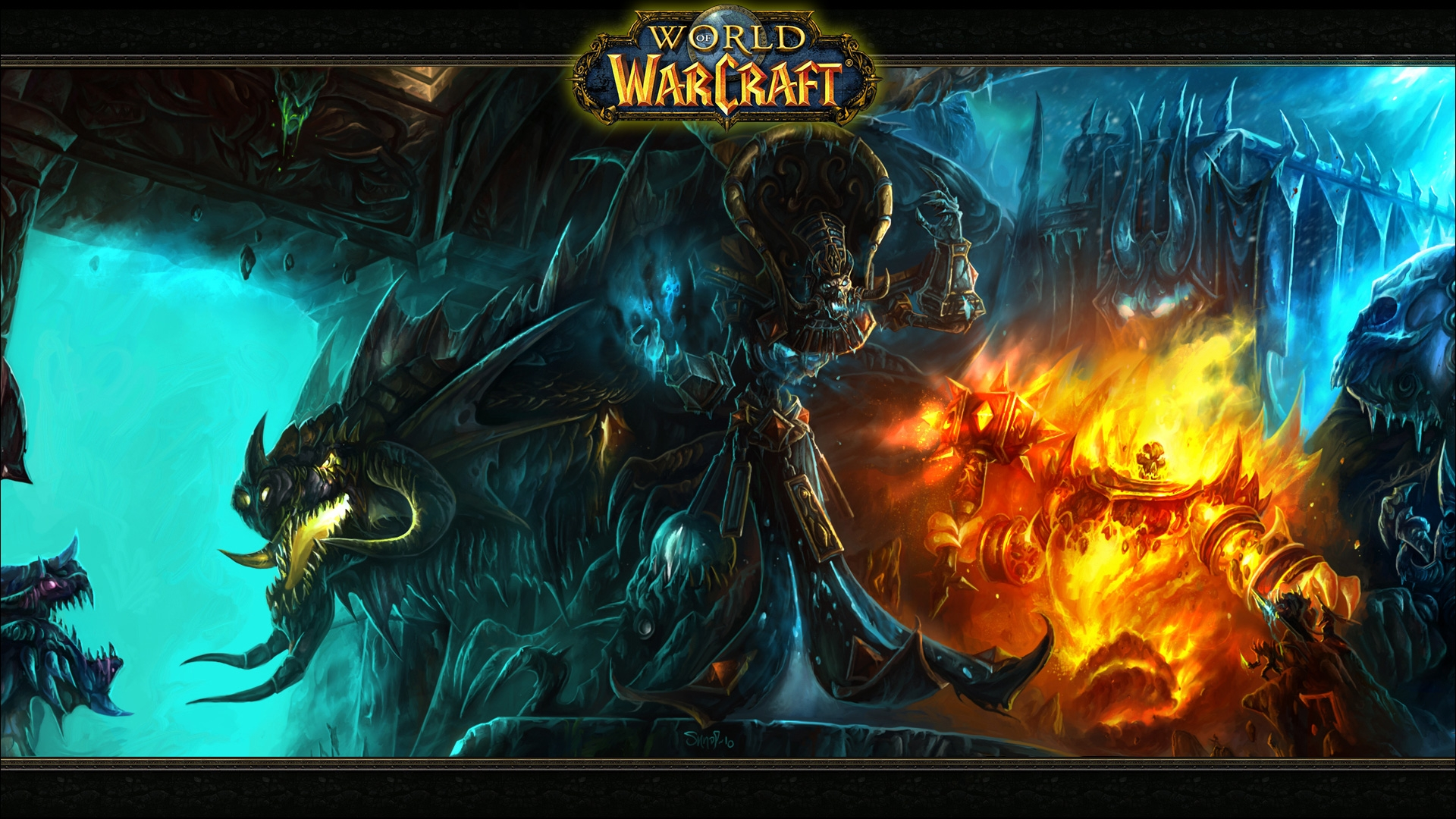 Download Wallpaper 1920x1080 World Of Warcraft Monsters Characters Game Full Hd 1080p Hd Background