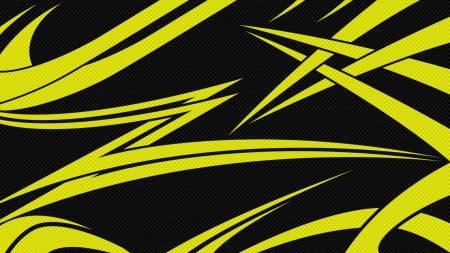 yellow, black, lines