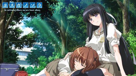 yosuga no sora, girls, picnic