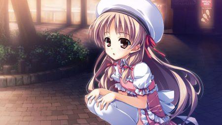yuuki hagure, kourin no machi lavender no shoujo, girl