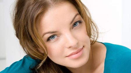 yvonne catterfeld, face, eyes