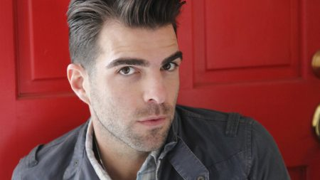zachary quinto, actor, beard